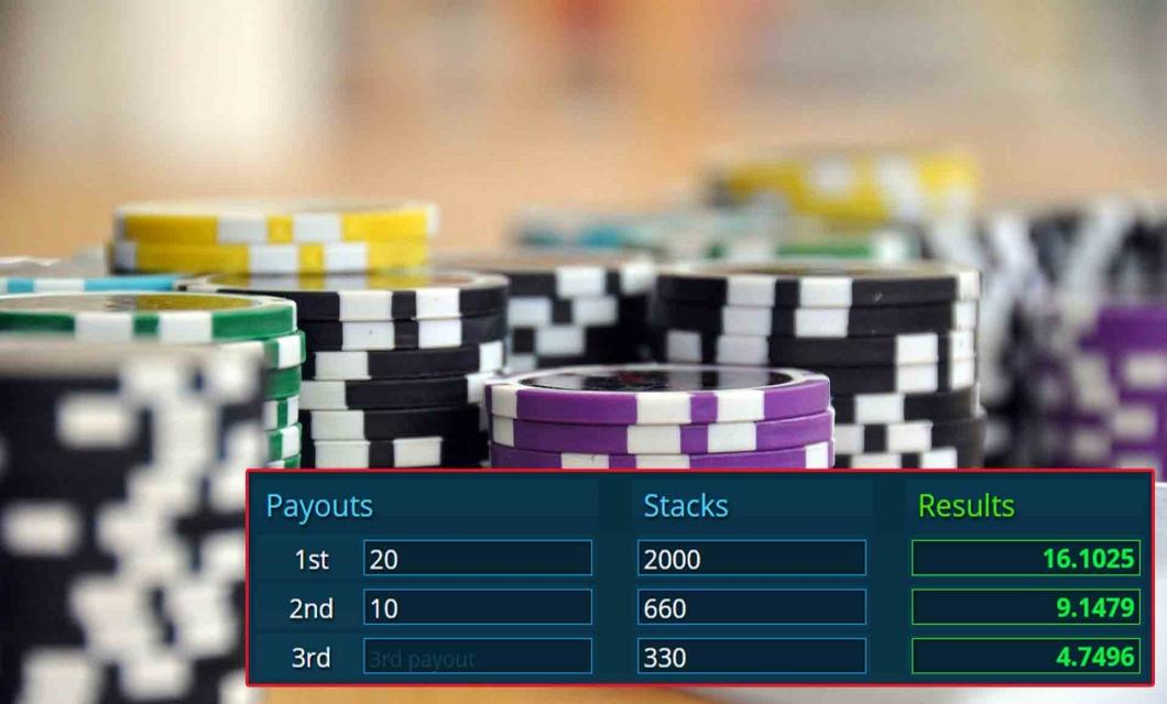 Online Poker Standings
