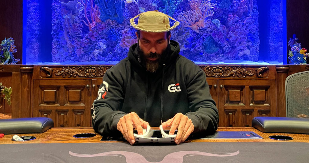 Dan Bilzerian play poker games