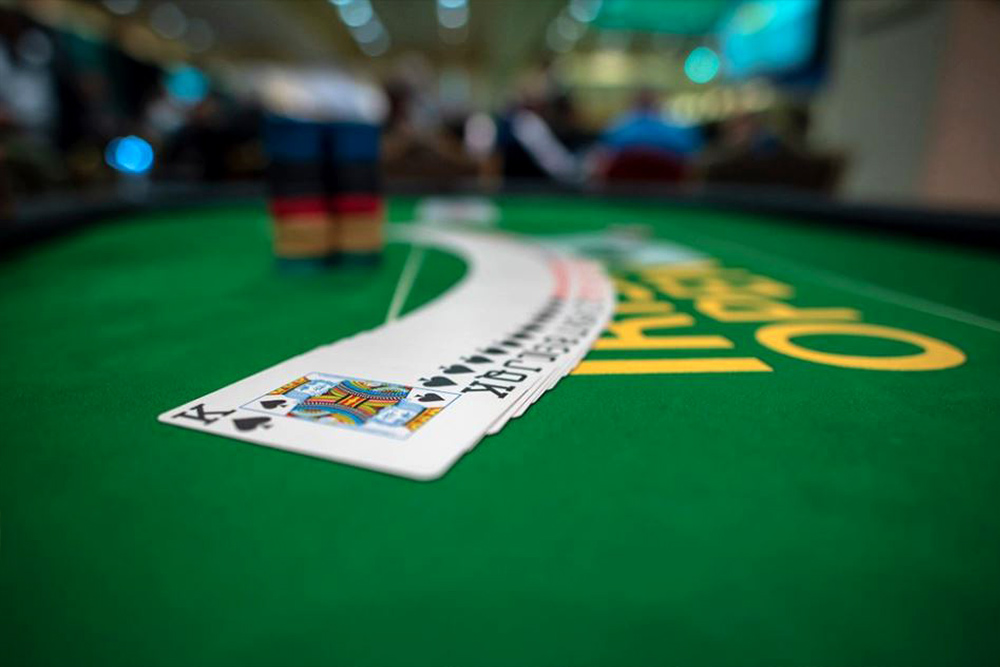 irish Poker is performed
